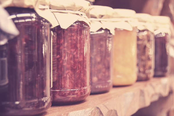 how to homestead. simple living by canning and preserving your own food.