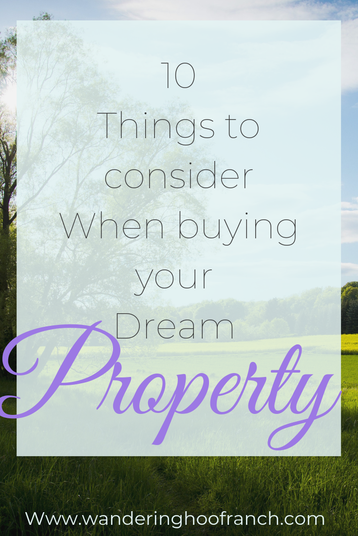 Do you dream of buying your dream homestead property in the near future? Do you want your own chunk of land to homestead on? So did we. Today I share with you our top 10 considerations for buying your homesteading property and why it might not be right for you.