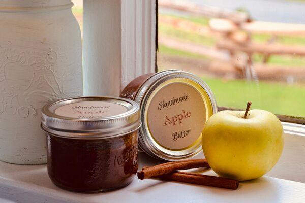 handmade apple butter