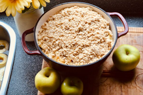 apple crisp desert