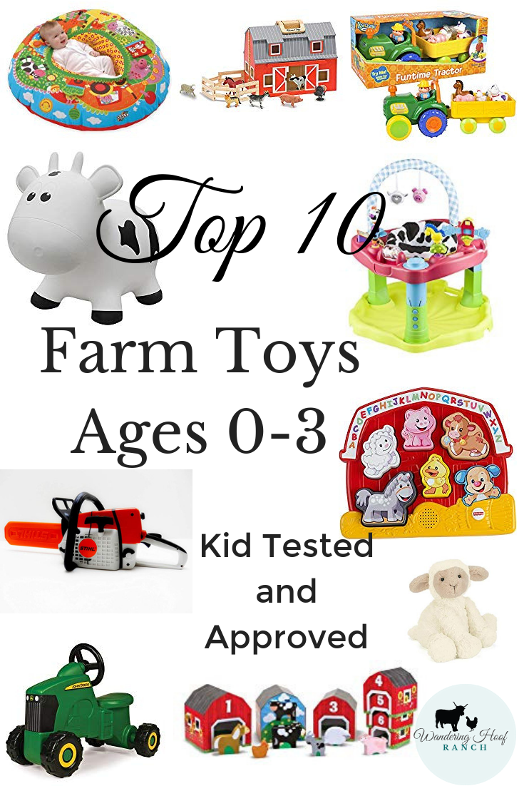 Children love farm animals. They love to learn animal sounds and play pretend. Your child will have fun and learn fundamental skills with these sweet farm themed toys for babies and toddlers. I've gathered some of our top farm toys to share with you.