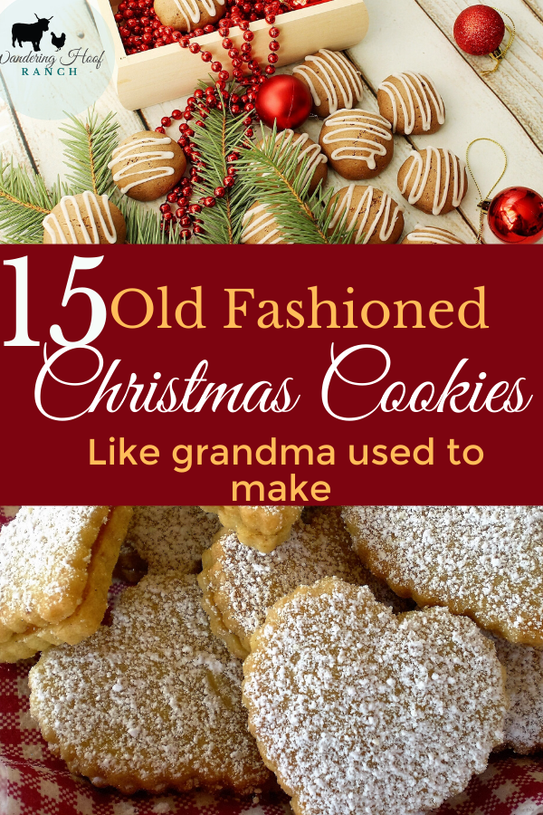 old fashioned cookie recipes