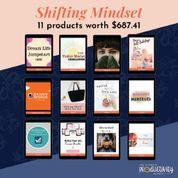 shifting mindset 11 products worth 688