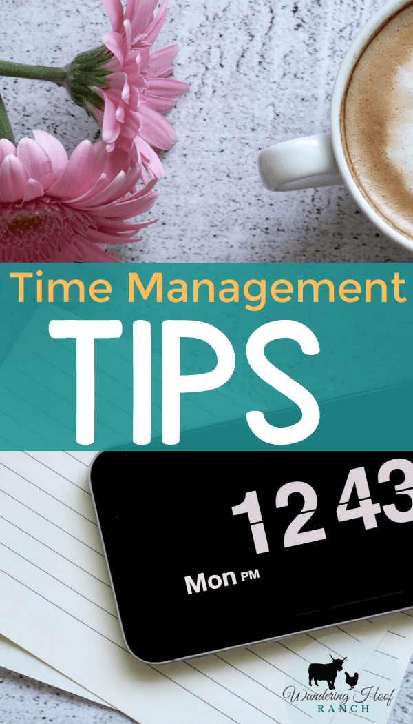 Time Management Tips for Homesteaders