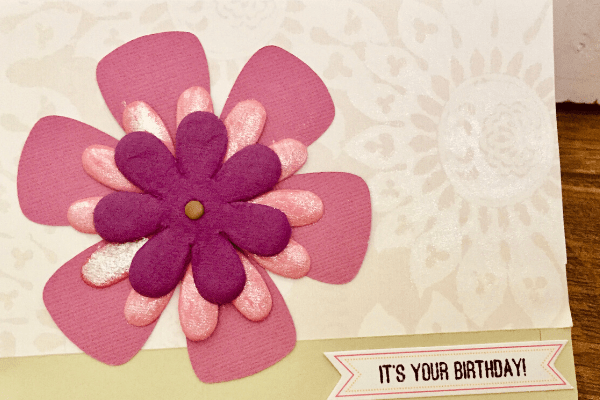 handmade birthday card
