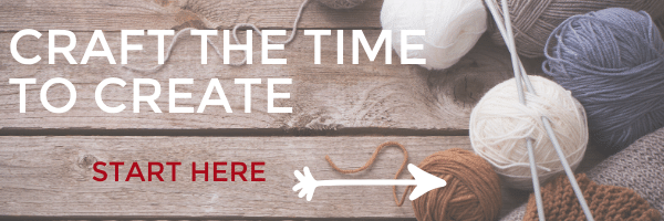 Craft the time to Craft Email Course