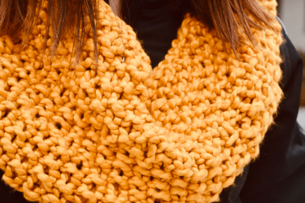 EASY Knit Projects for Beginners, Easy Cowl Scarf Pattern