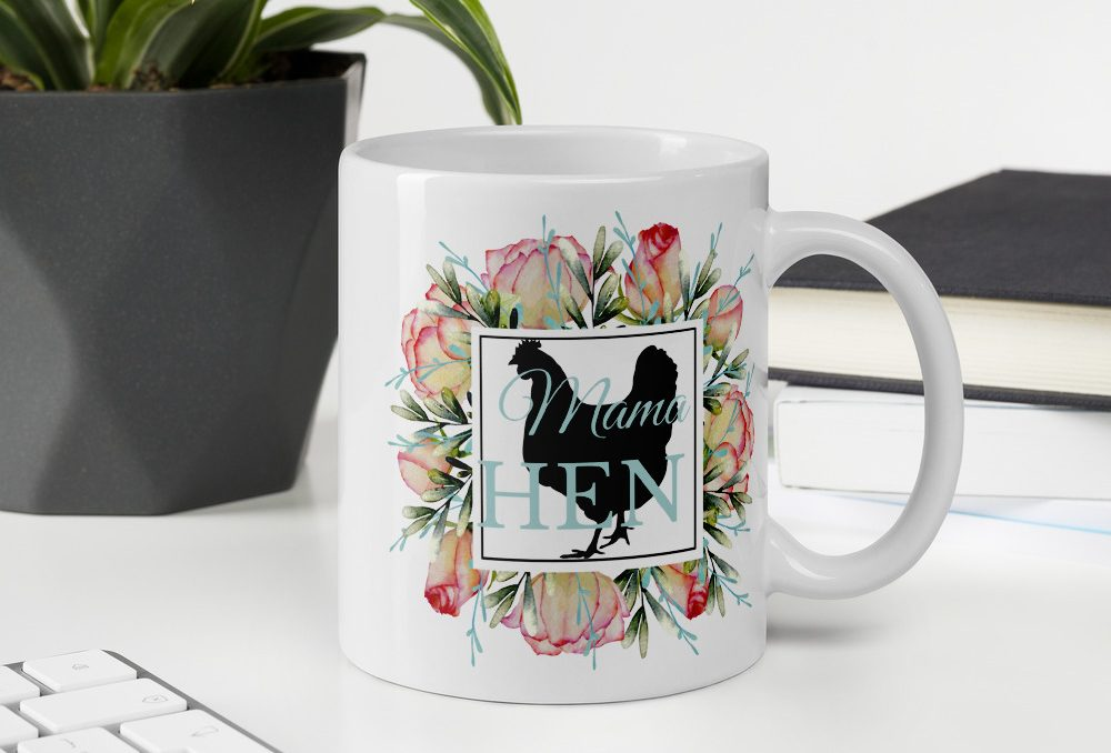 Mama Hen mug