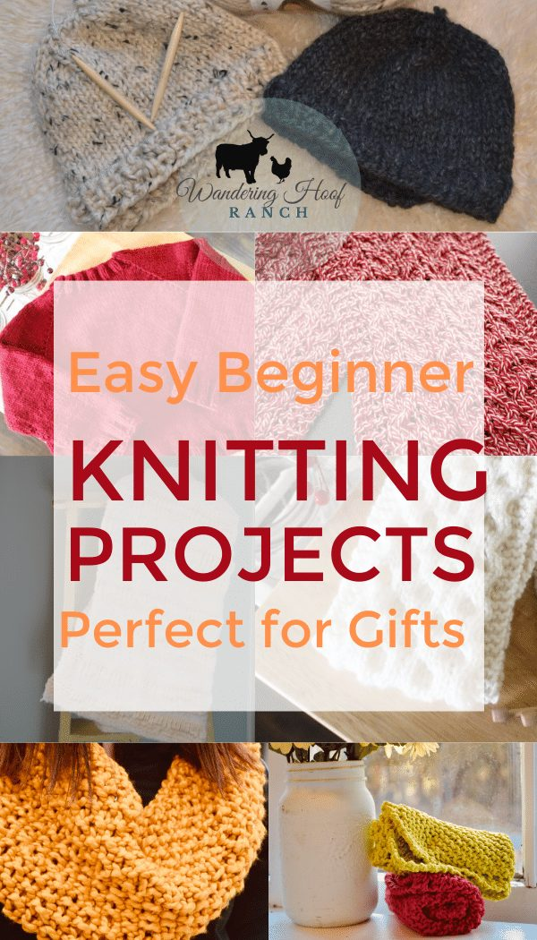 7 Easy Knit Projects For Beginners