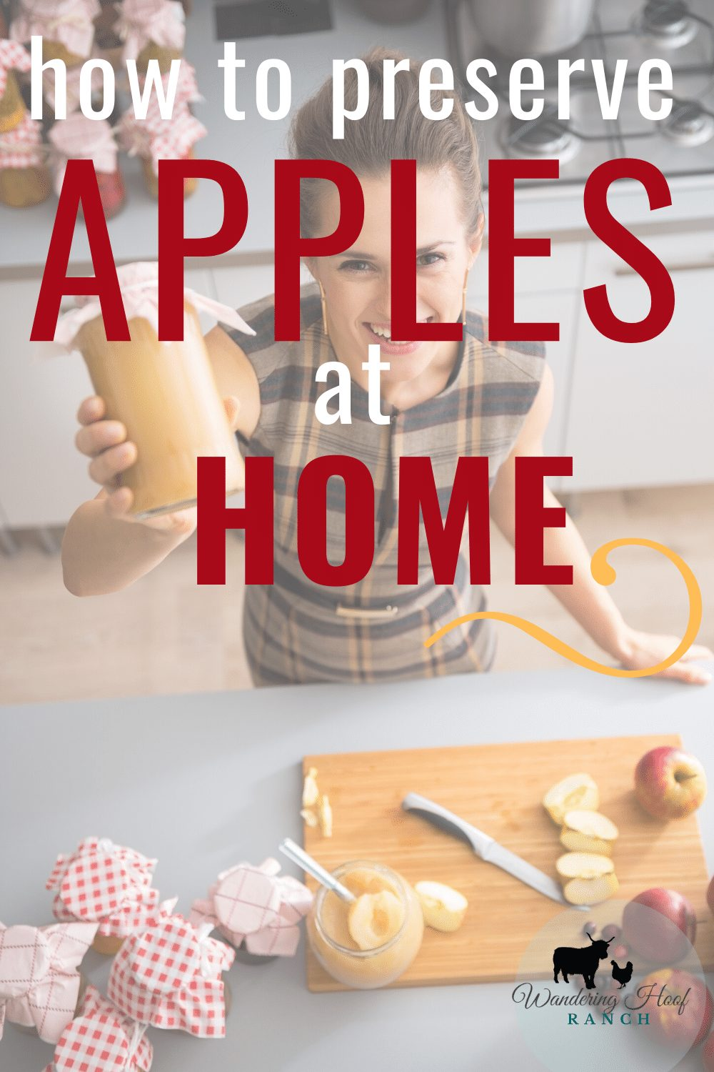 HOW TO PRESERVE APPLES AT HOME, HAPPY LADY DID IT!