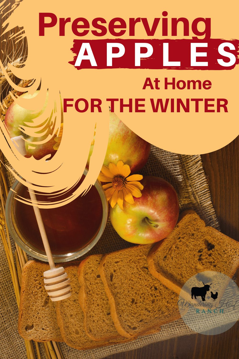 PRESERVING APPLES AT HOME FOR THE WINTER PIN IMAGE