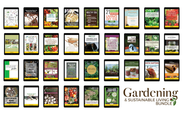 GARDENING AND SUSTAINABLE LIVING BUNDlE MOCK UP