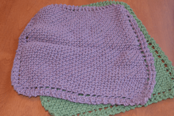 grandmothers knitted dishcloth pattern