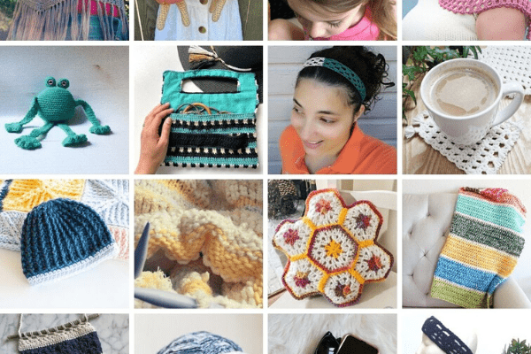 knitting and crochet pattern collection