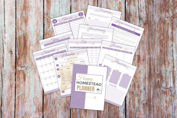 happy homestead planner