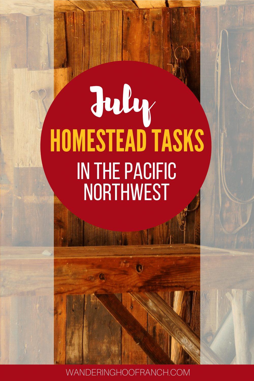 July homestead