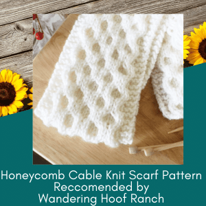 honeycomb scarf pattern