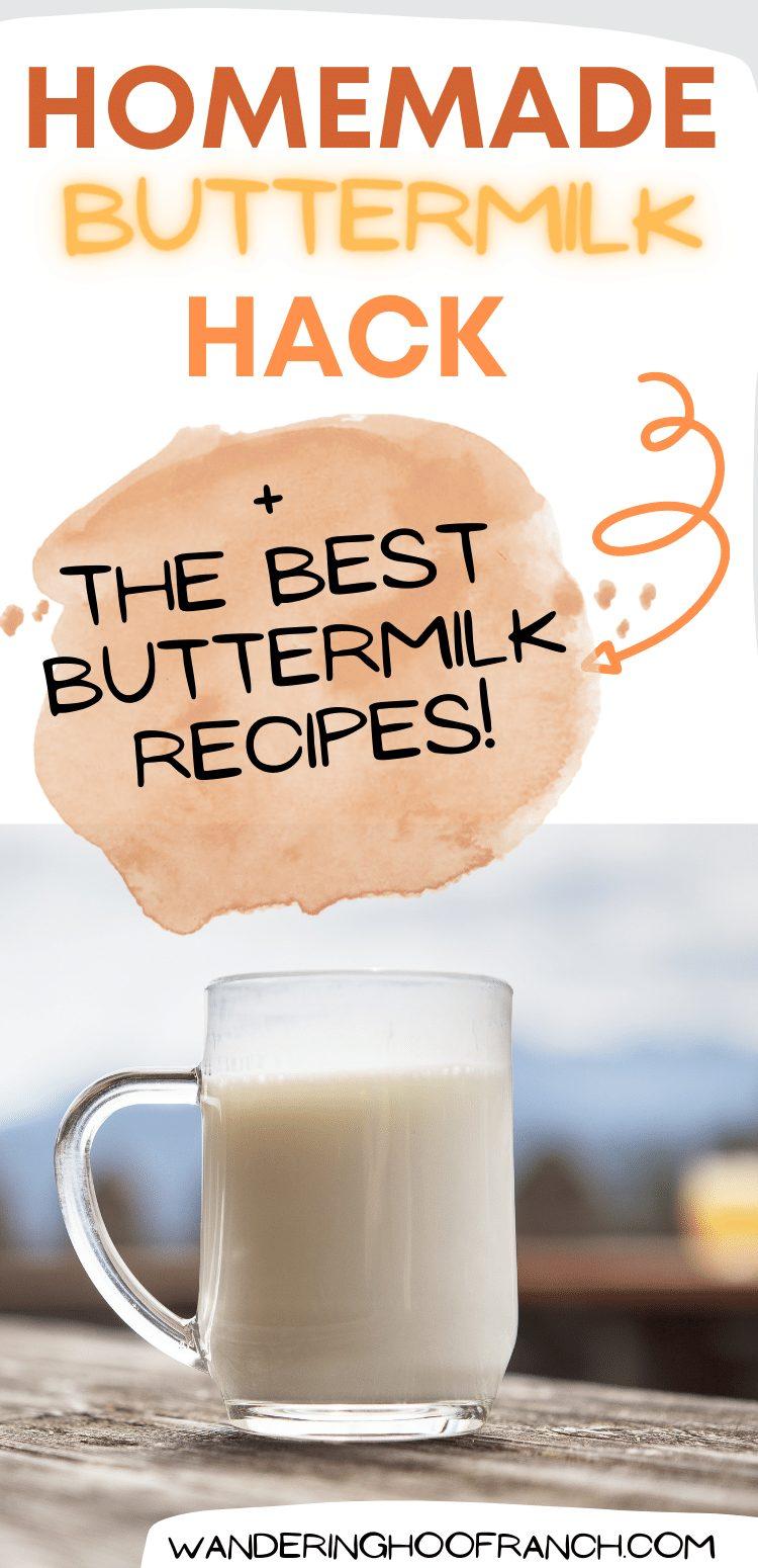 homemade buttermilk pin image
