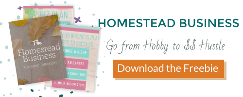 Homesteading Business Planning Checklist