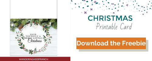 Christmas Printable Card