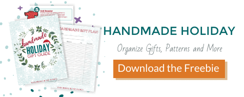 handmade holiday gift guide and organizer