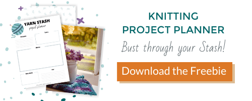 knitting project planner