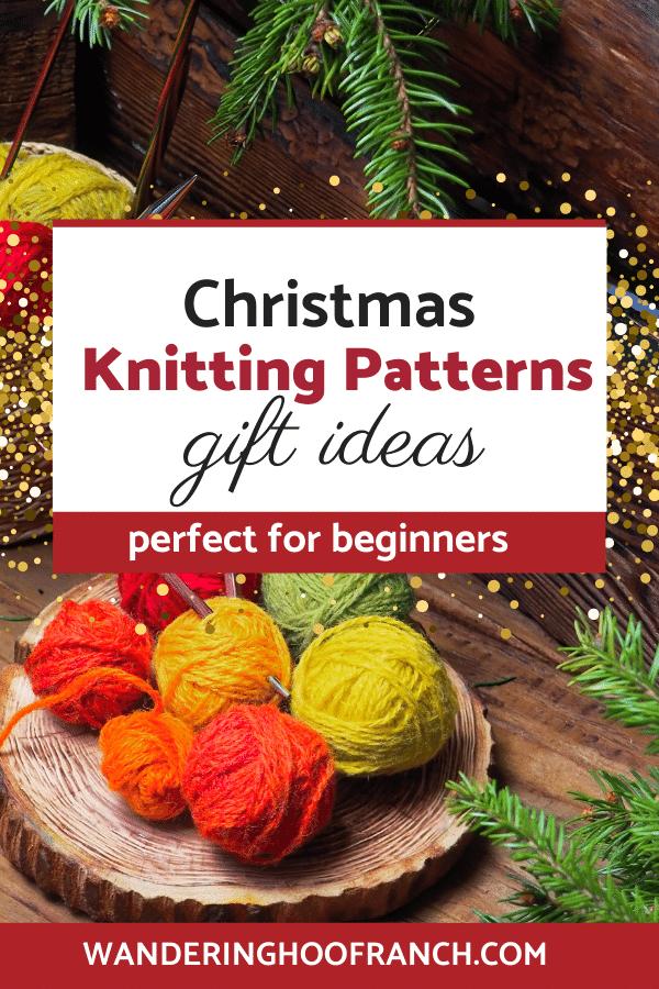 Christams knitting Yarn Balls
