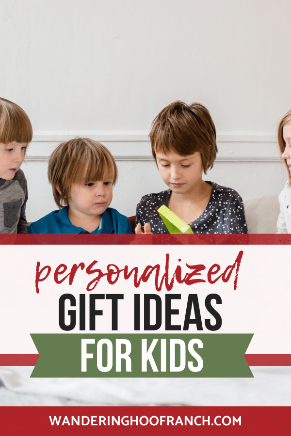 kids opening gifts together, personalized gifts that kids love