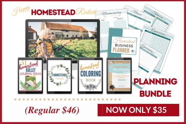 happy homestead restart planning bundle image